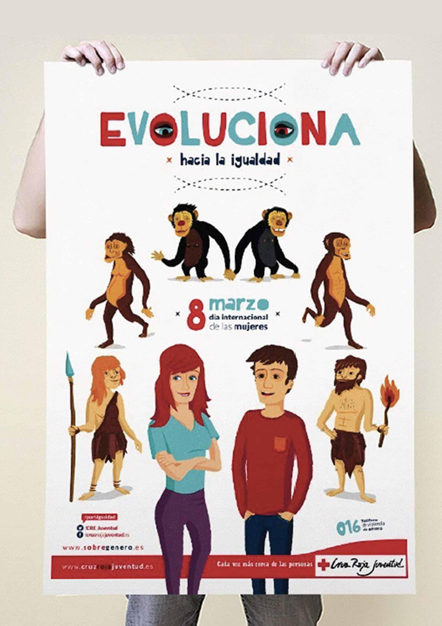 evoluciona cartel