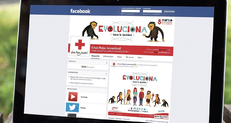 pagina facebook evolucion