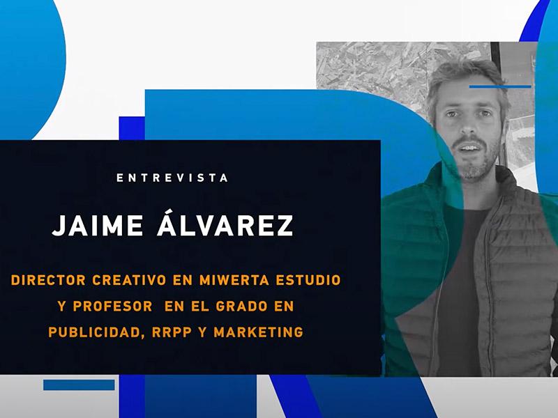 Portada entrevista con Jaime Alvarez